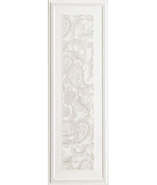 Керамическая плитка New England Bianco Boiserie Sarah Dec 33x100