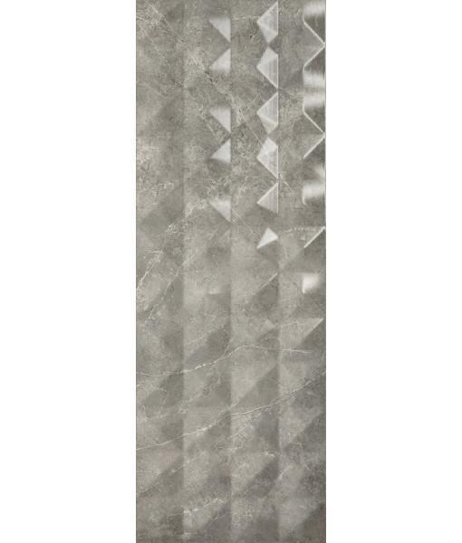 Керамическая плитка FUSION SANDY GREY  35x100