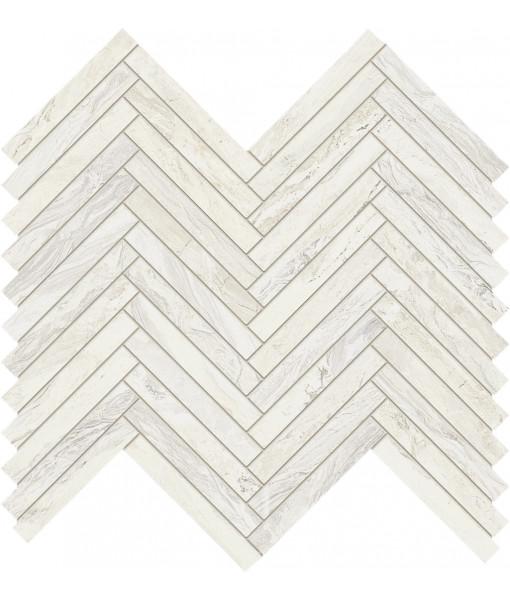 Мозаика LISCA GEMSTONE WHITE RETT 30X33