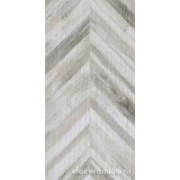 Керамическая плитка Rafters White Chevron Rett. 60x120