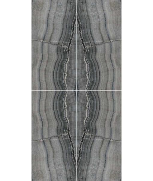 Керамогранит SKOR.B.MATCH BLACK.RL S/4   60X120
