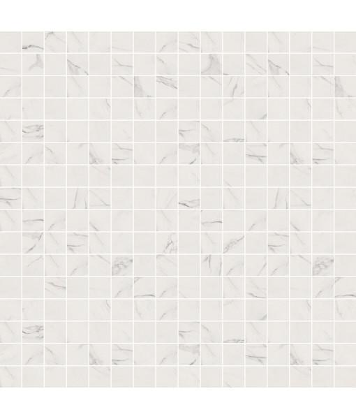 Мозаика SENSI MOS ART STATUARIO WHITE LUX+ 30X30