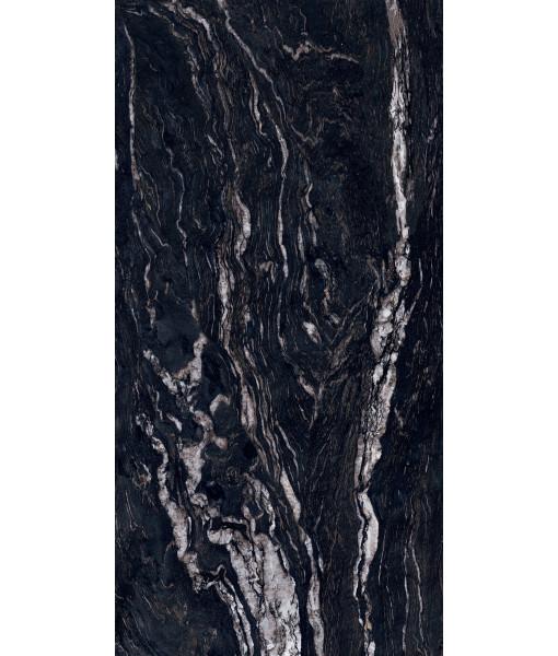 Керамическая плитка SENSI GEMS TITANIUM BLACK  LUX+ RET 60X120