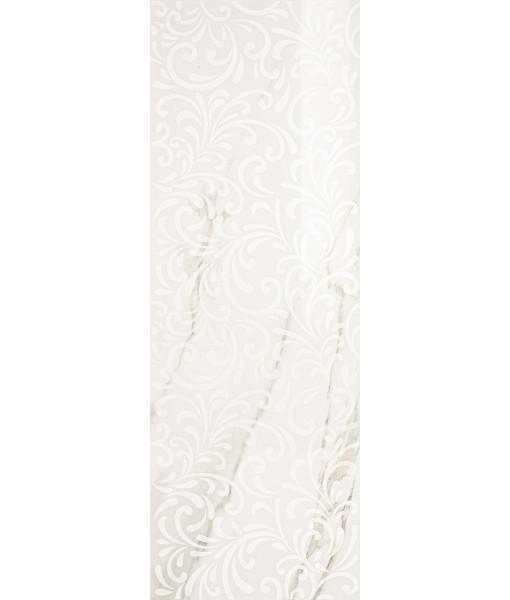 CURL CALACATTA WHITE 35x100