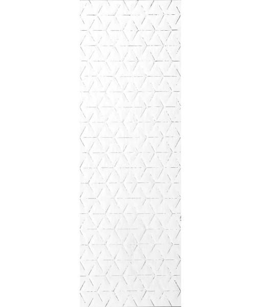 Декор PURA BIANCO ROMBO TRACCE PLATINO Rett 50x150