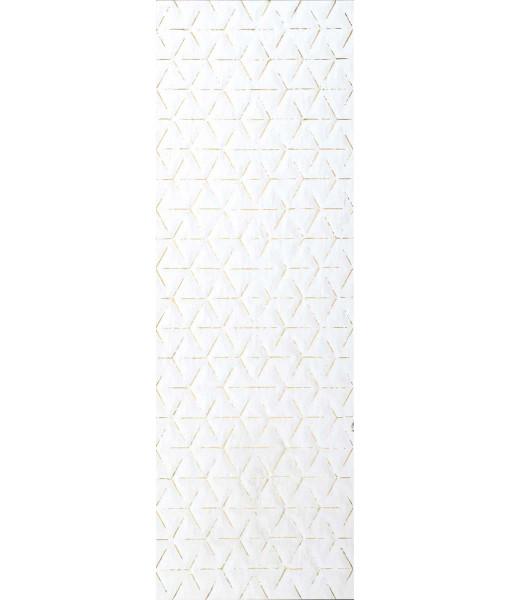 Декор PURA BIANCO ROMBO TRACCE ORO Rett 50x150