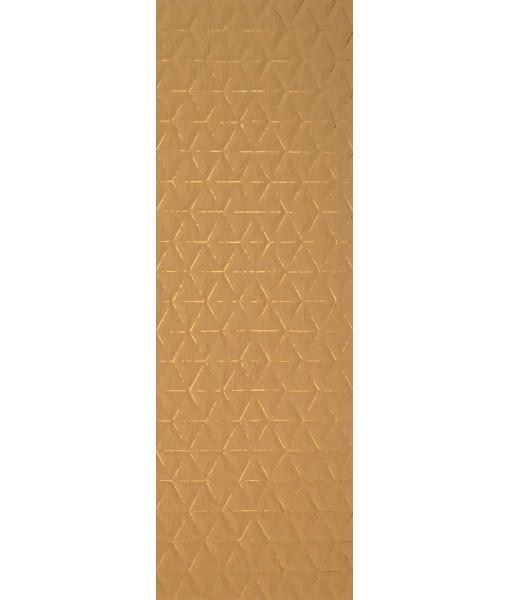 Декор PURA SENAPE ROMBO TRACCE ORO Rett 50x150