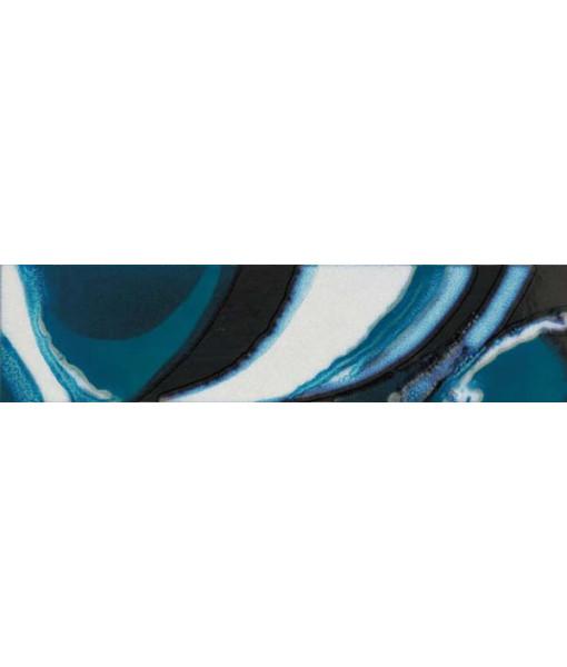 Декор DEC.SPLASH BLUE MIX2 RETT  15X60